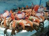 plateau de fruits de mer de la poissonnerie le homard a partir de 23 euro la part